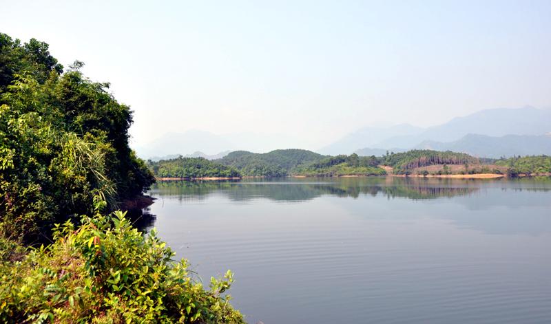 hồ Trúc Bài sơn Hải Hà